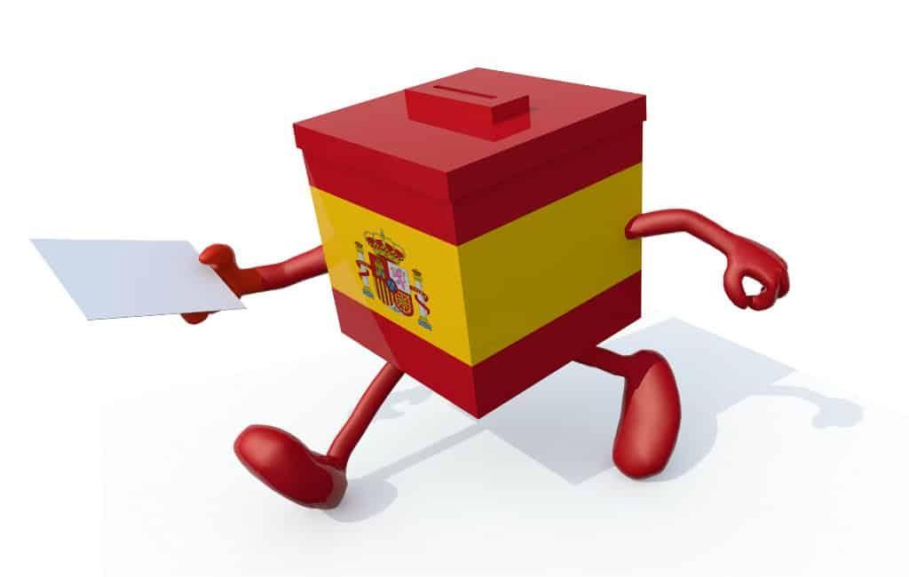 26M: verkiezingen Spanje op 26 mei