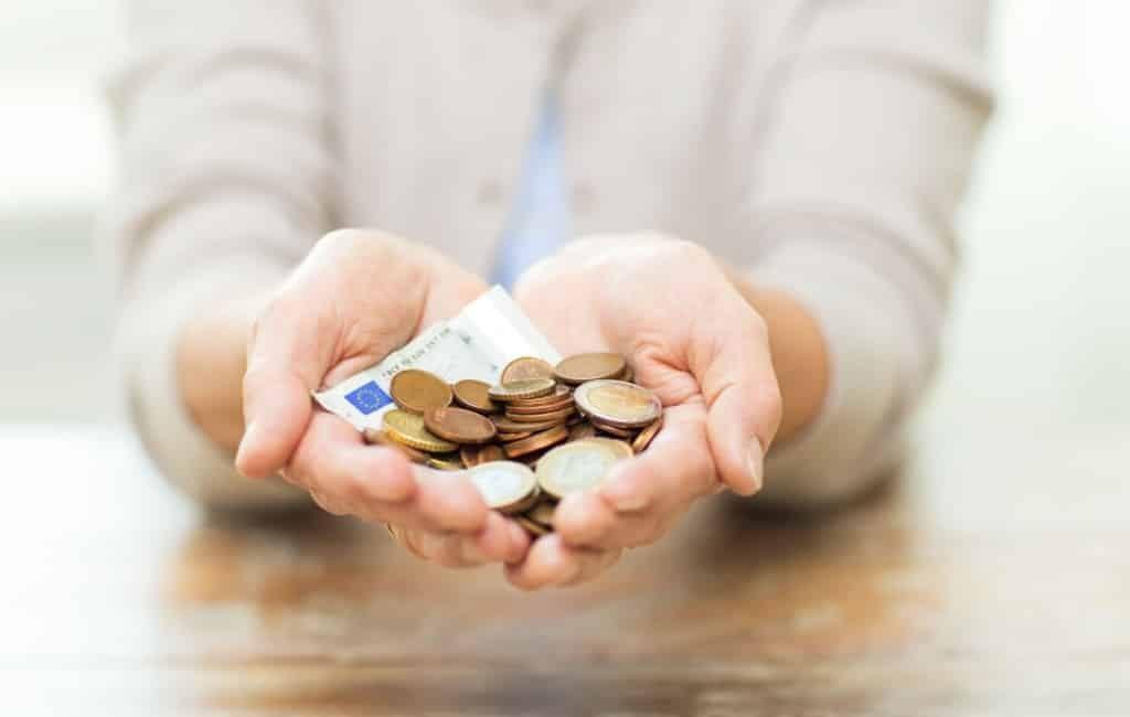 Helft gepensioneerden Spanje heeft minder dan 900 euro per maand