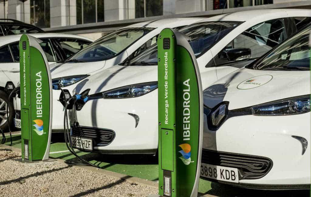 Stroom leverancier Iberdrola gaat ook voor de elektrische auto's