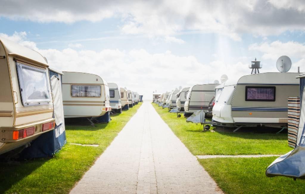 Aantal Nederlandse en Belgische campinggasten in Spanje in 2018
