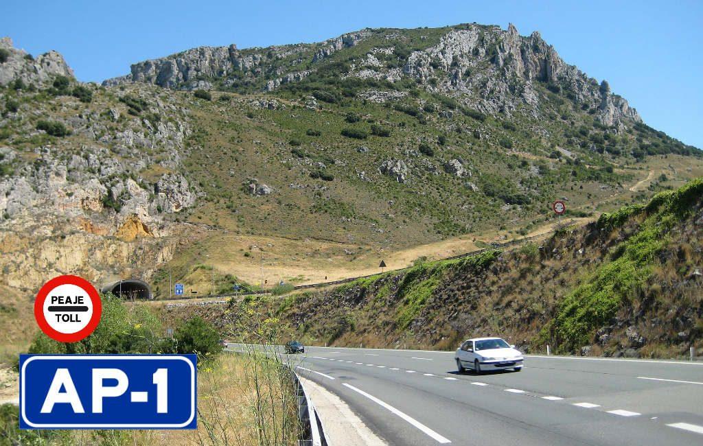 AP-1 snelweg wordt deze week tolvrij in Spanje