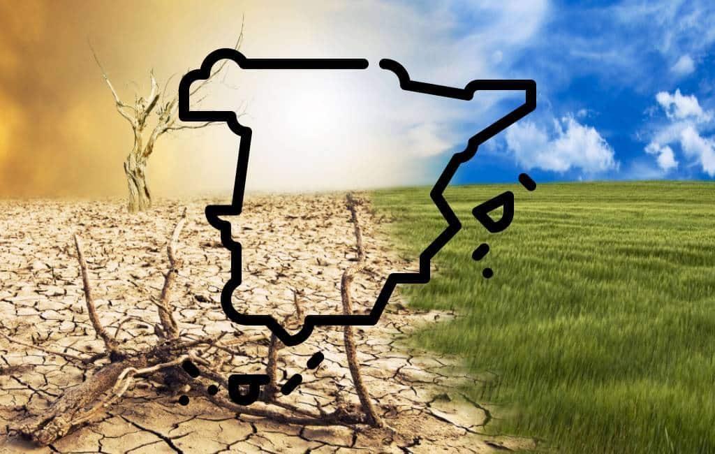 Klimatologische noodsituatie in Spanje met maatregelen in 145 steden