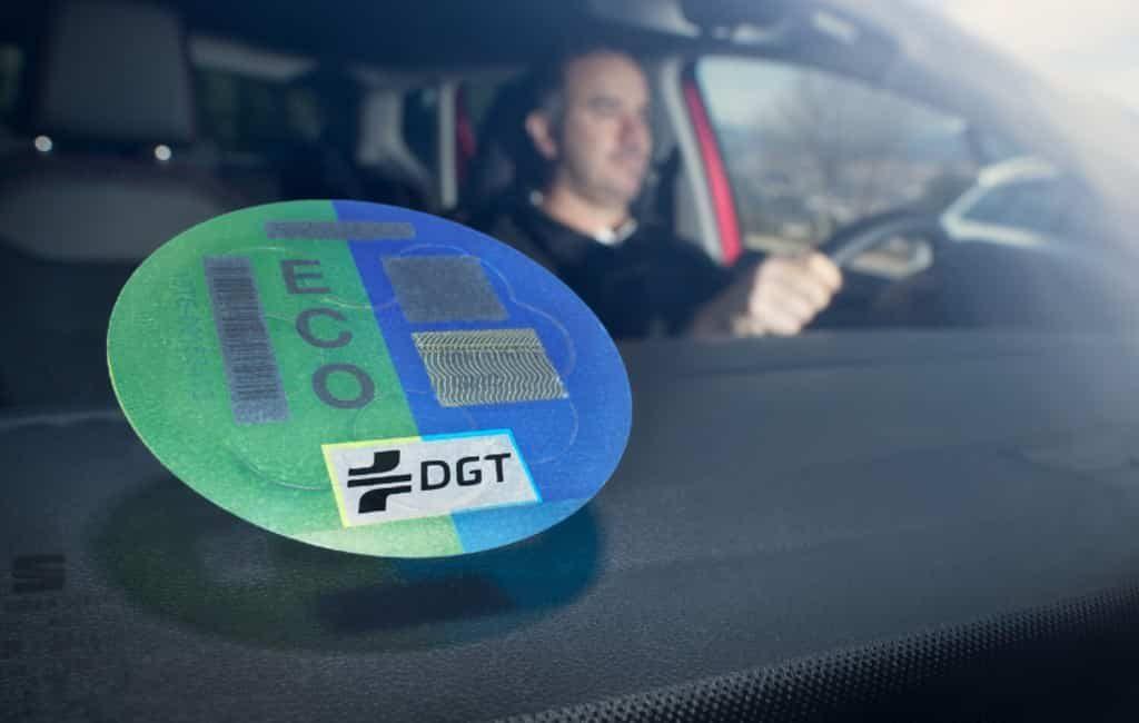 Informatie over de milieustickers voor voertuigen in Spanje