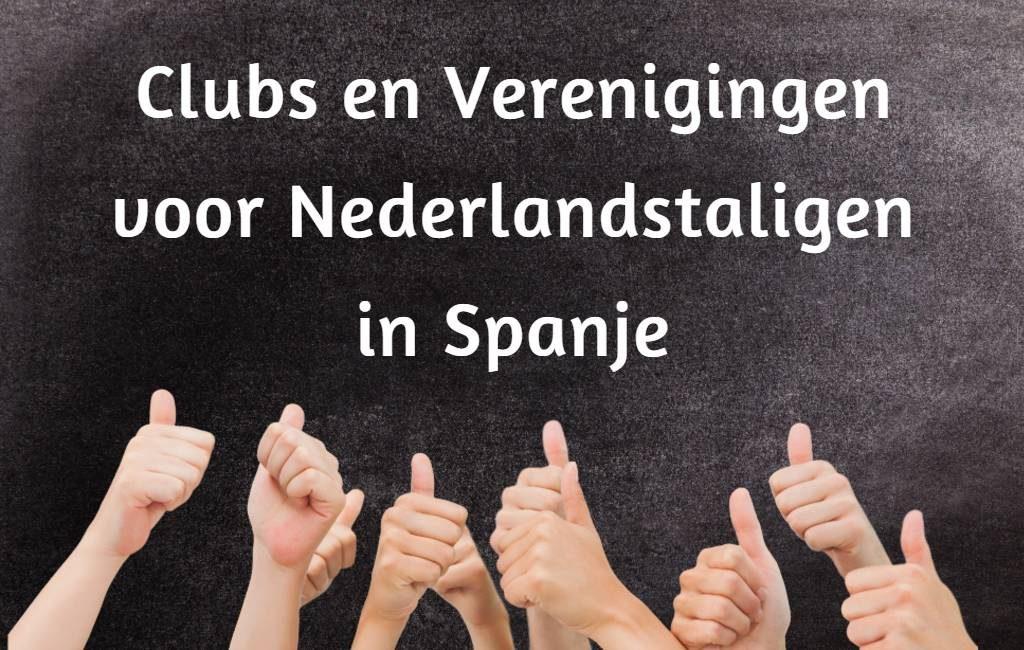 Overzicht clubs en verenigingen voor Nederlandstaligen in Spanje