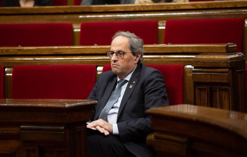 Quim Torra gediskwalificeerd als Catalaanse regiopremier
