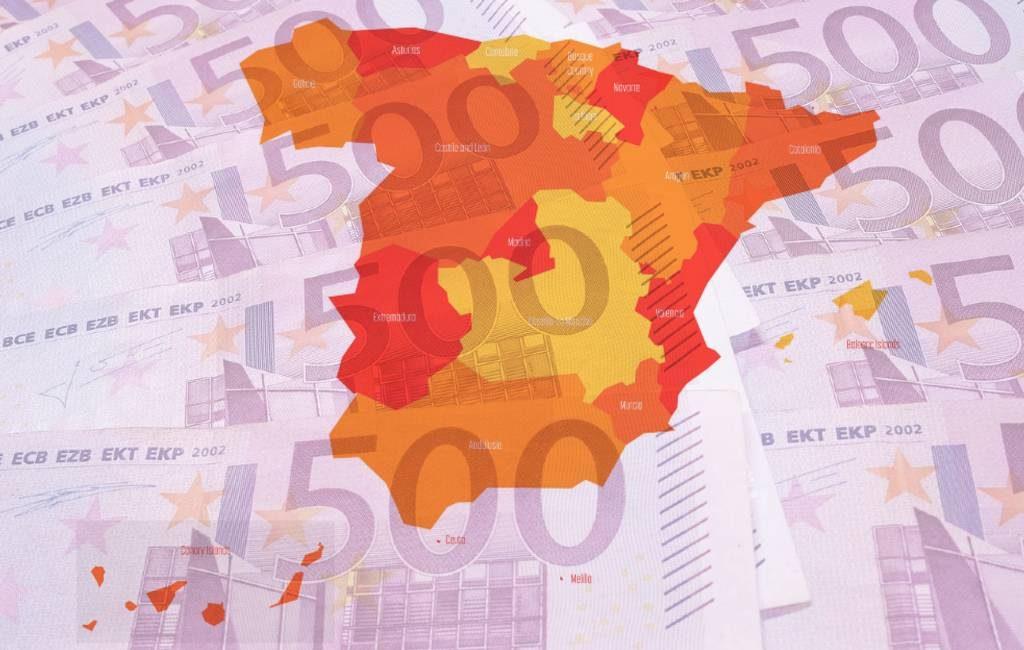 Autonome regio's Spanje ontvangen toch de beloofde overheidsfinanciering