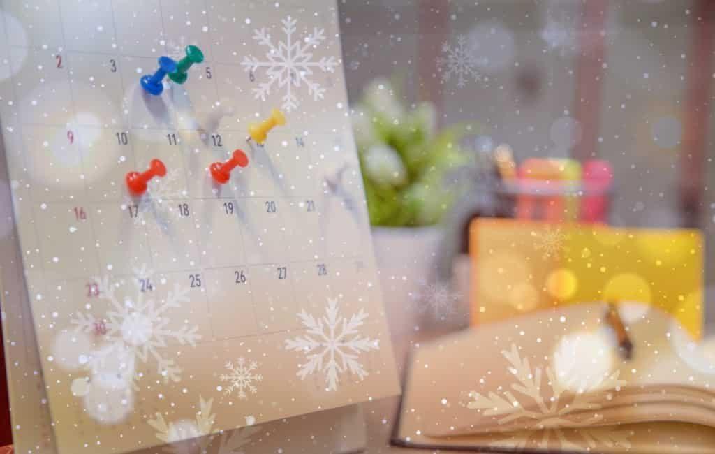Uitleg alle vrije dagen in Spanje in de maand december