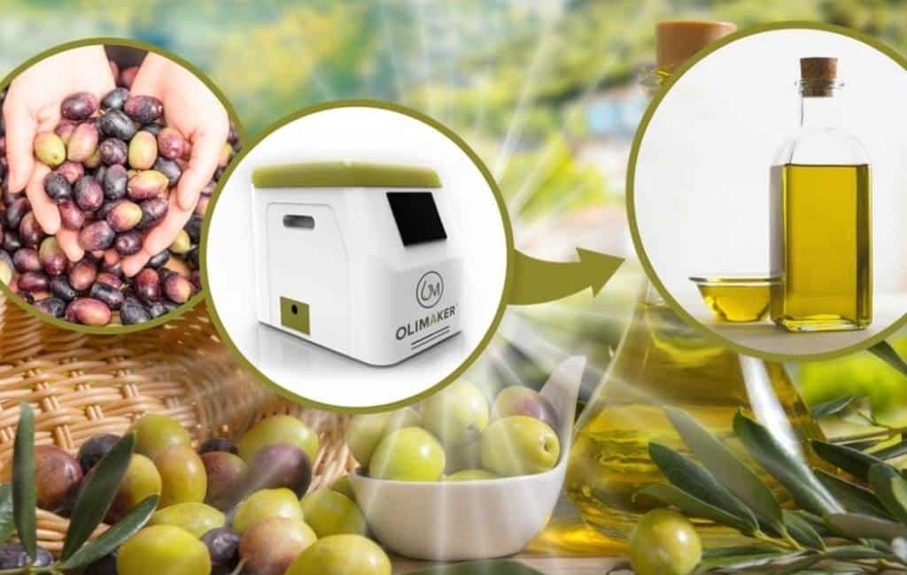 Maak je eigen olijfolie met deze Spaanse machine