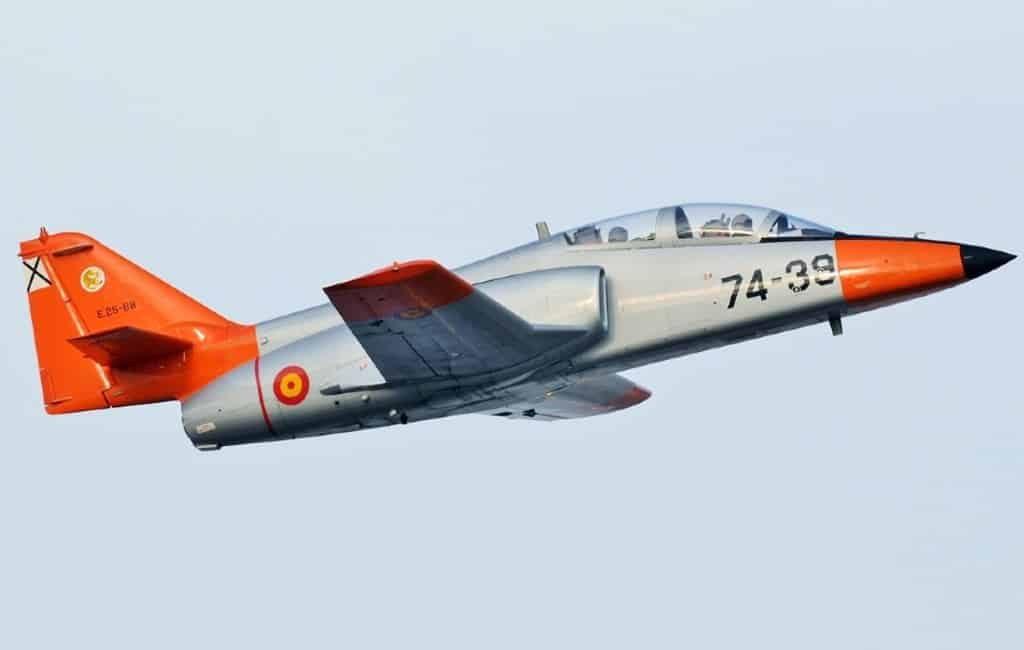Piloot neergestorte straaljager in de zee bij Murcia overleden