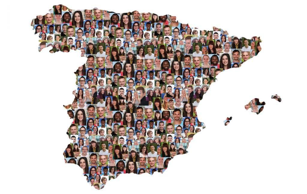 Spanje heeft meer dan 47 miljoen inwoners