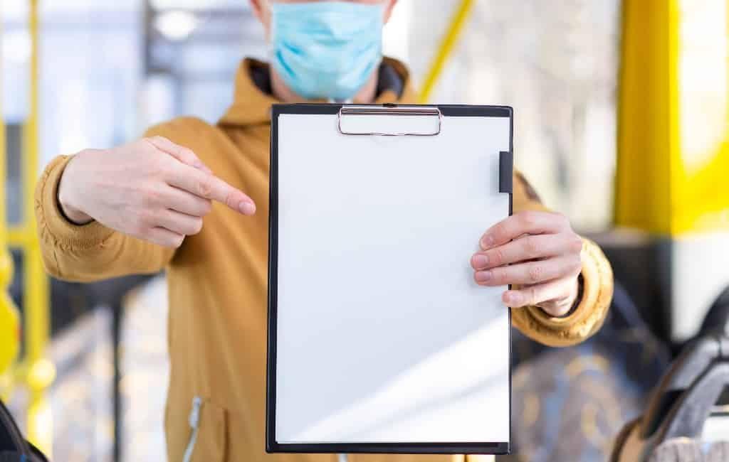 Document voor vitale en essentiële werknemers in Spanje