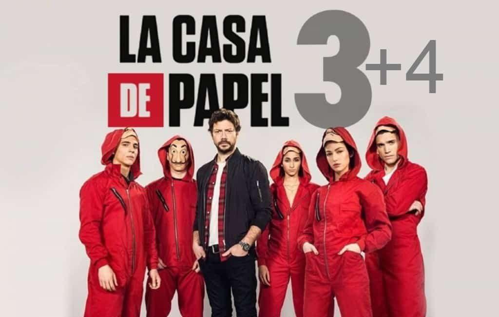 Spaanse Netflix serie La Casa del Papel krijgt vierde deel