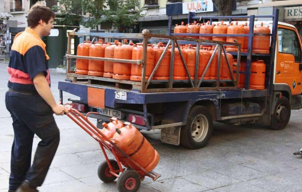 Butaangasflessen 5 procent goedkoper in Spanje