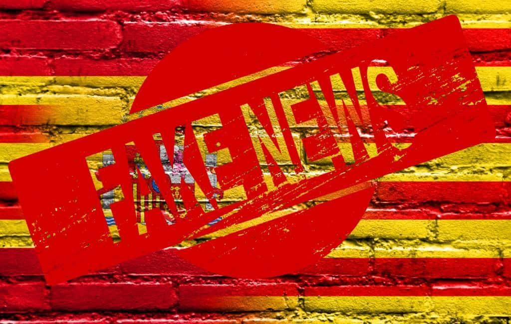 'Bulos' of fake news over de situatie en gebeurtenissen in Catalonië