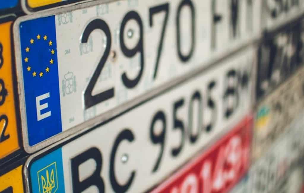 Mag je in Spanje een gepersonaliseerde nummerplaat hebben?