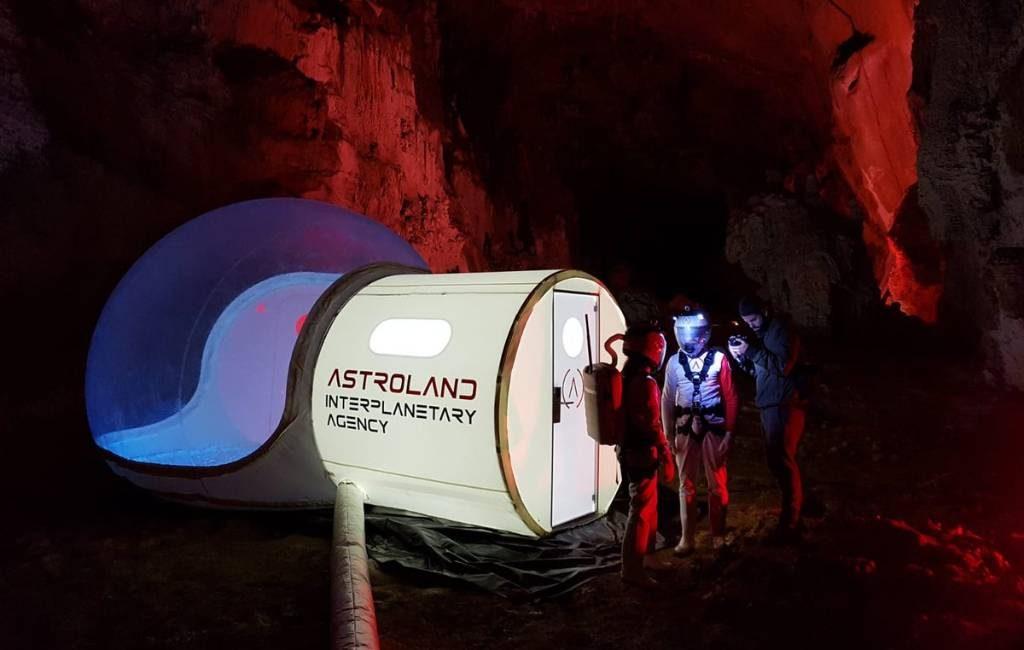 De reis naar de planeet Mars begint in Noord Spanje