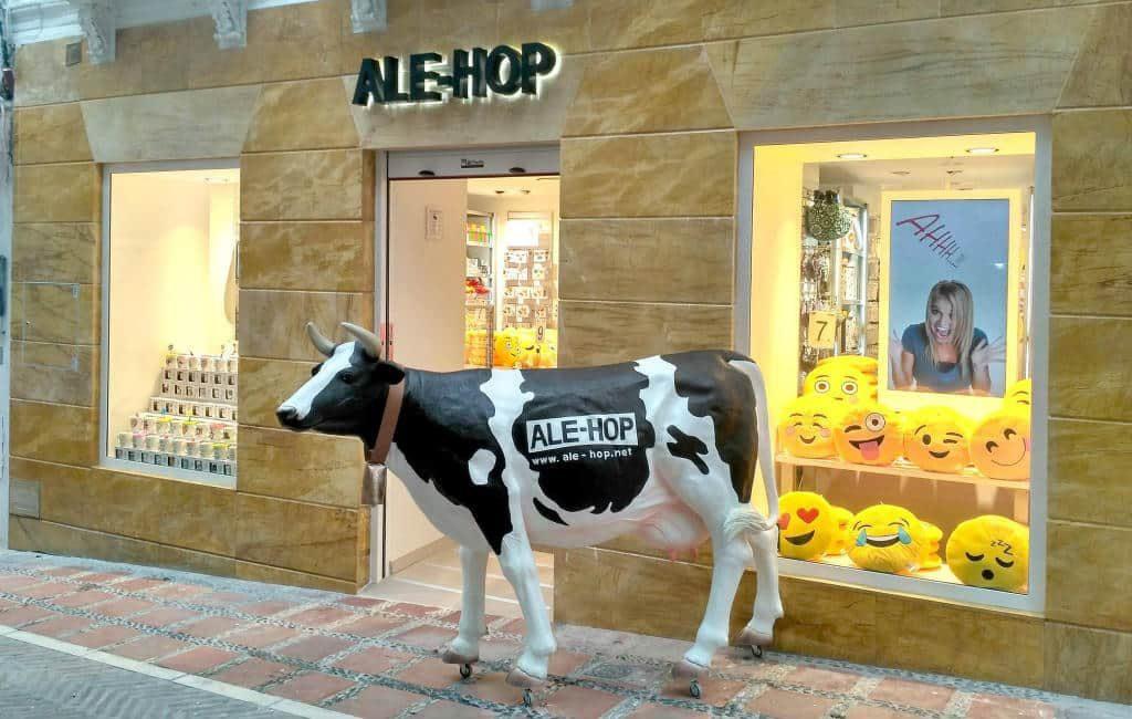 Arrestatie vanwege bijna diefstal 'Ale-Hop' koe op Mallorca