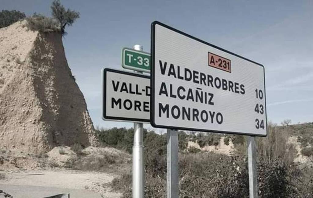 Ruzie om bewegwijzering op grens Catalonië met Aragón