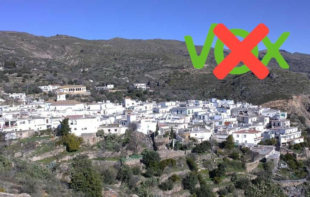 Het enige dorp in Andalusië waar niemand extreemrechts heeft gestemd
