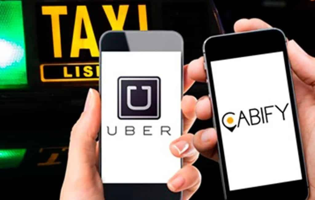 Uber en Cabify verlaten Barcelona