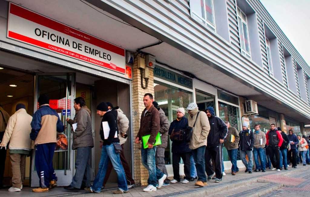 Aantal werklozen in Spanje met 33.956 personen gedaald