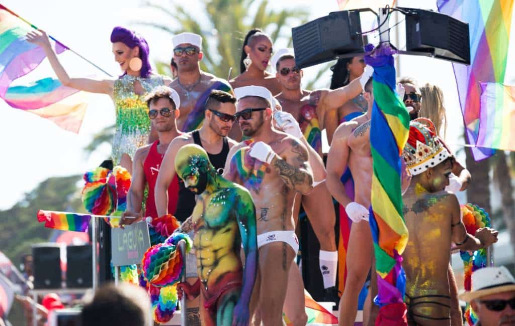 Benidorm in de ban van het Pride Festival