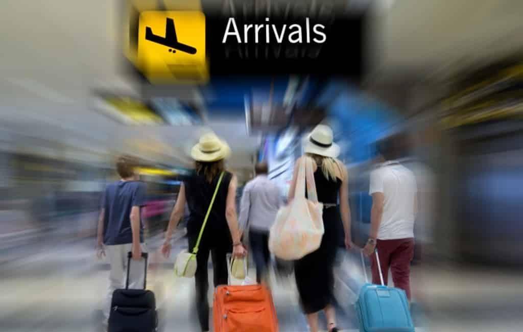 Bijna 214 miljoen vliegtuig passagiers Spaanse vliegvelden