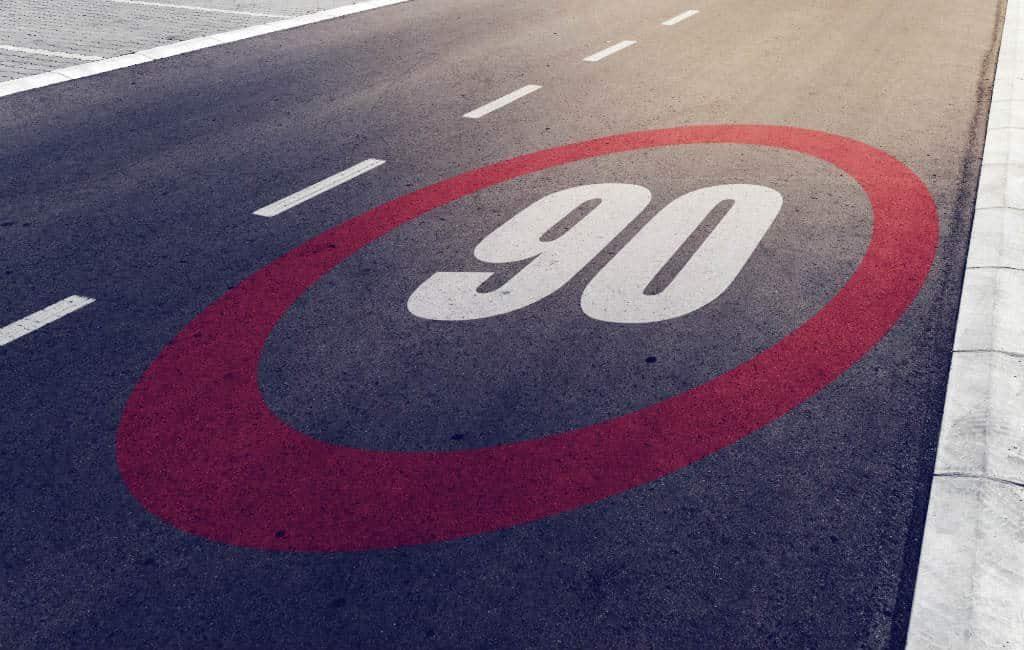 Snelheid op secundaire wegen wordt verlaagd naar 90 km/u in Spanje