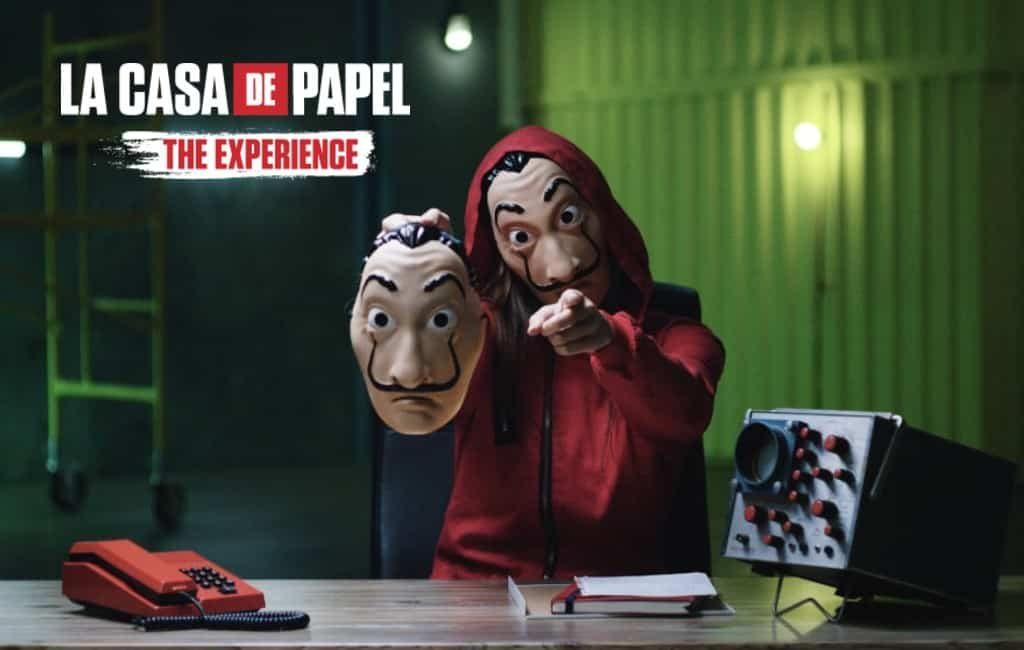 De 'Casa de Papel Experience' in Madrid voor de fans van de Netflix serie