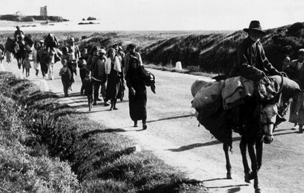 83 jaar na bloedbad 'Desbanda' route Málaga-Almería