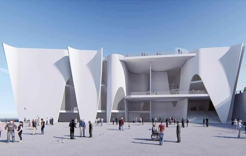 Barcelona wil het Hermitage museum niet dus biedt Madrid zich aan
