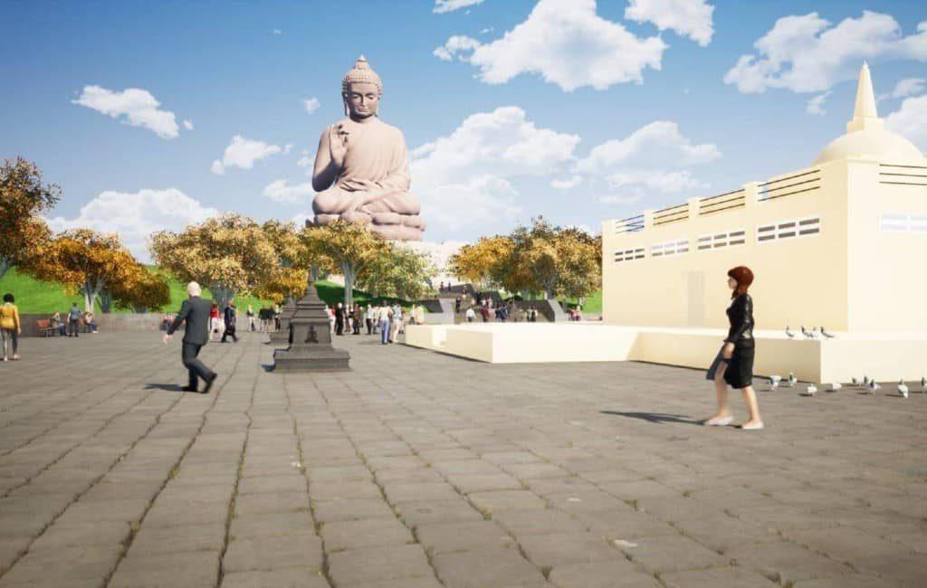De grootste boeddha ter wereld moet in Extremadura komen