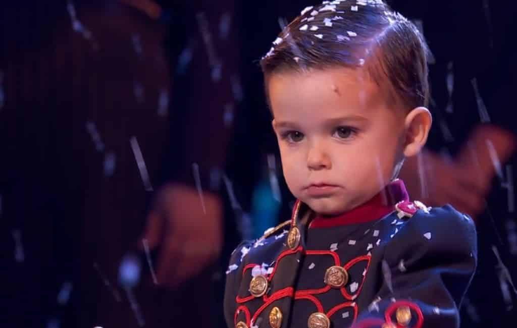 Driejarige Hugo jongste winnaar ooit Spaanse talentenshow Got Talent