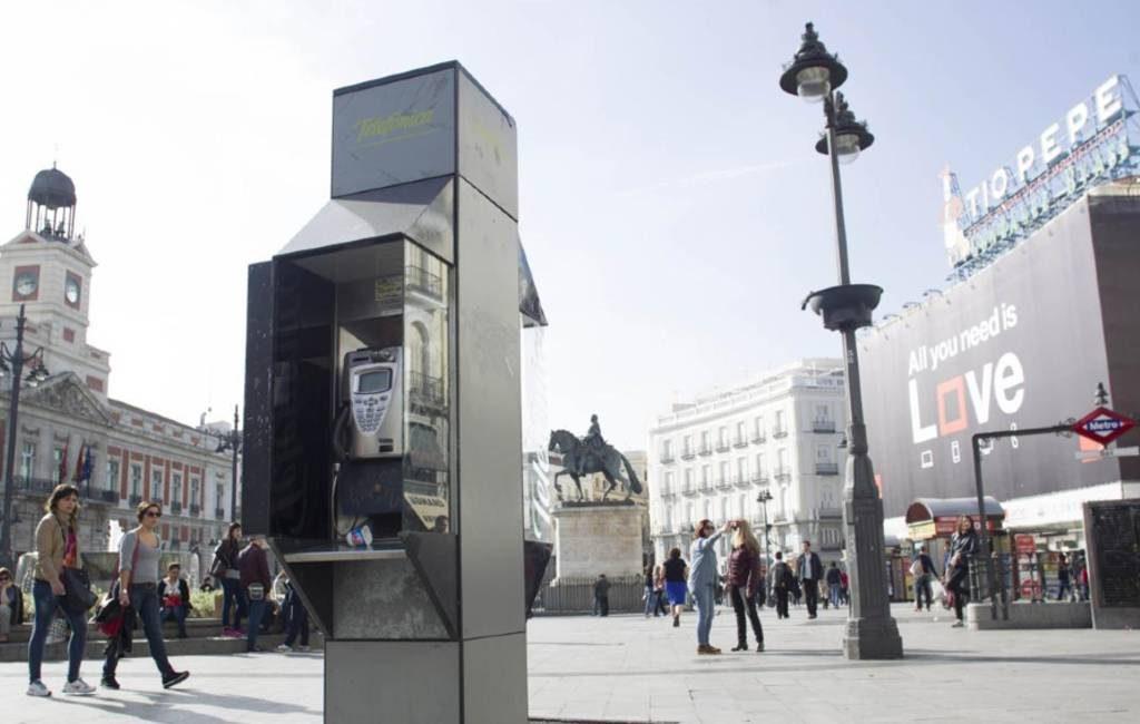 16.000 telefooncabines met gemiddeld één telefoontje per dag in Spanje