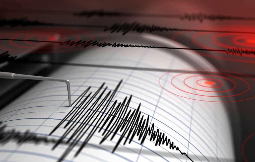 Aardbeving van 2,9 op schaal van Richter in de Marina Alta regio Costa Blanca