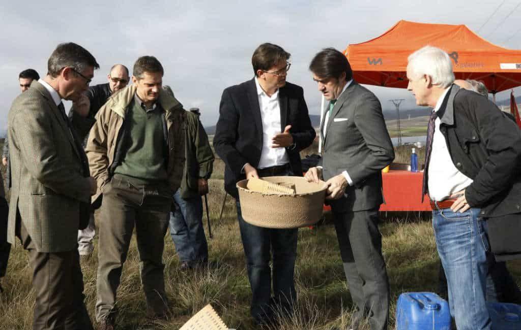 Het Nederlandse LeasePlan plaatst 21.000 bomen in Castilla y León