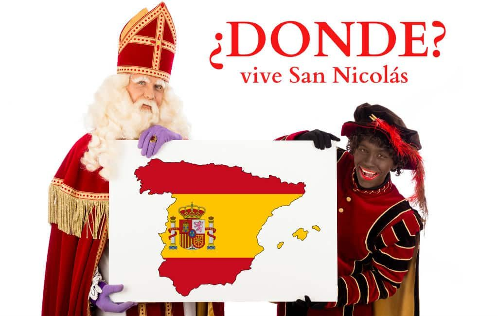 Waar woont Sinterklaas in Spanje?