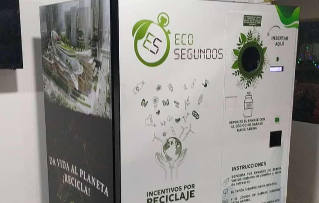 Verdien eco-seconden met een nieuwe recycle machine in Granada