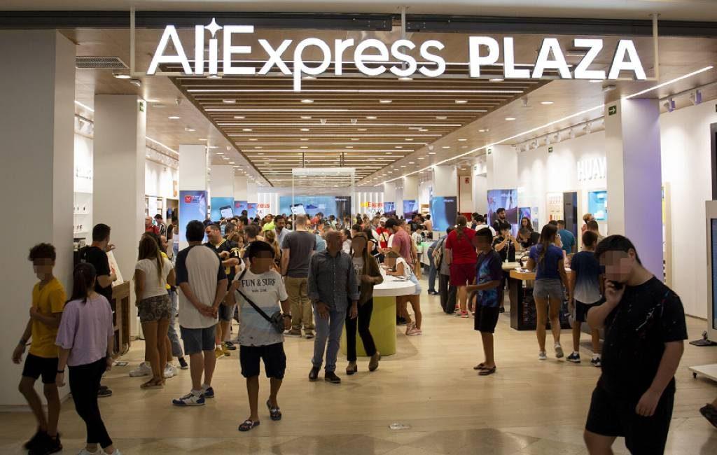 AliExpress opent tweede fysieke winkel van Spanje/Europa in Barcelona