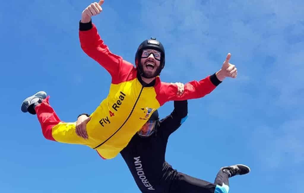Eerste parachutesprong simulator van Andalusië is te vinden in Málaga