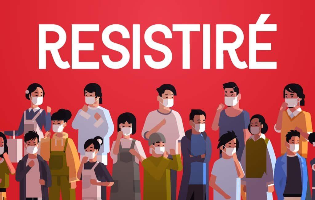 Het Spaanse volkslied ten tijde van de noodtoestand: Resistiré