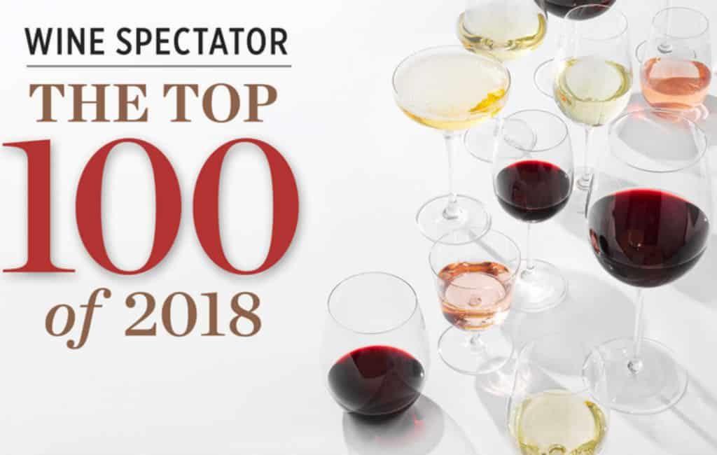 Zeven Spaanse wijnen onder de 100 beste ter wereld