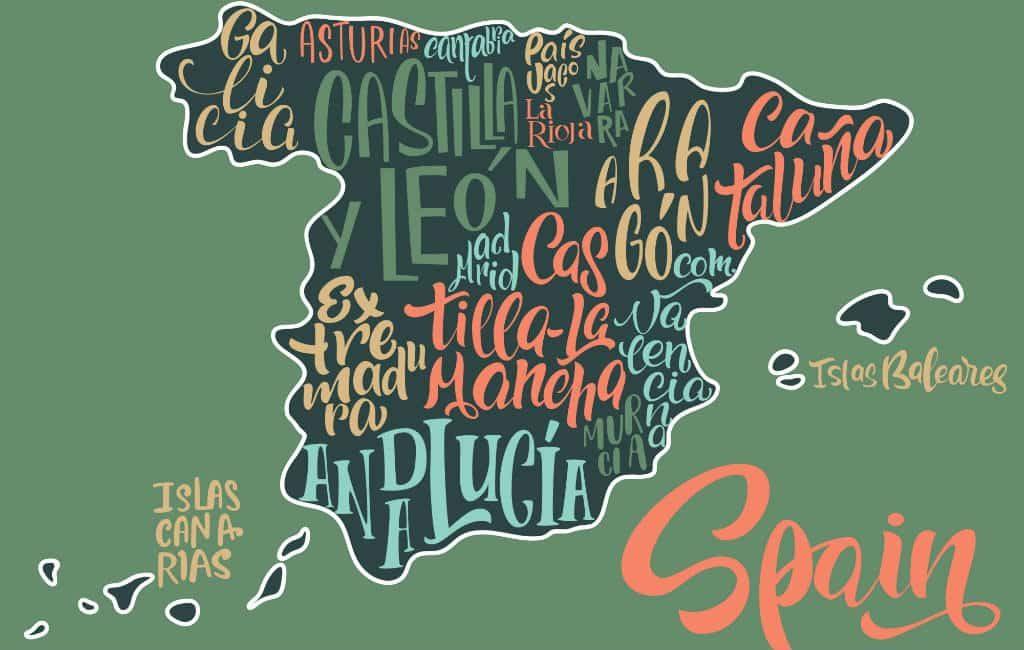 Hoe heet iemand die in Madrid, Málaga of Valencia woont in het Spaans?