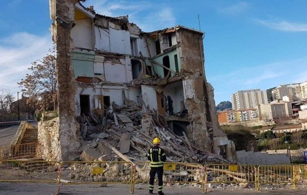 Opnieuw gebouw ingestort in Alcoy