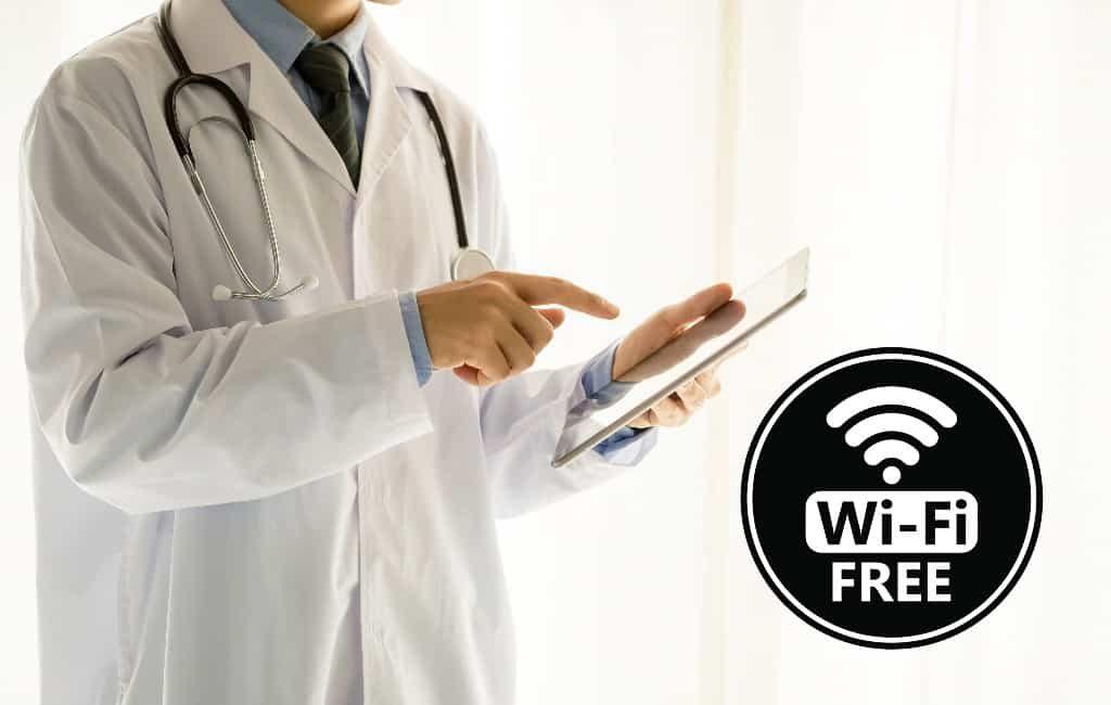 Gratis wifi in de ziekenhuizen in Madrid