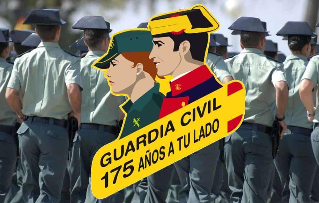 Guardia Civil Spanje bestaat 175 jaar