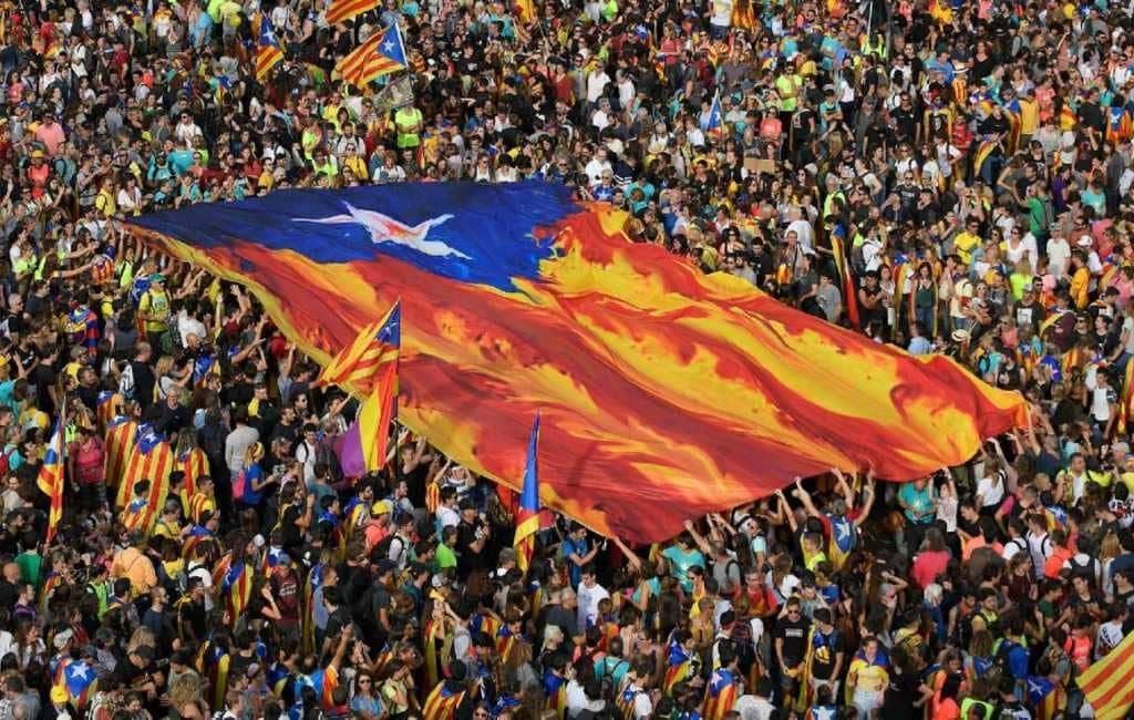 Merendeel Catalanen tegen onafhankelijkheid