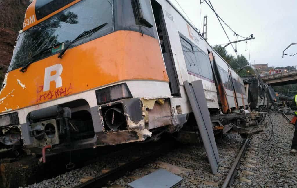 Trein ontspoort in Catalonië met één dode en diverse gewonden tot gevolg