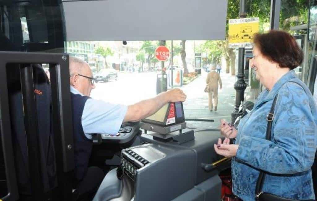 Inwoners van Marbella kunnen gratis met de stadsbussen rijden