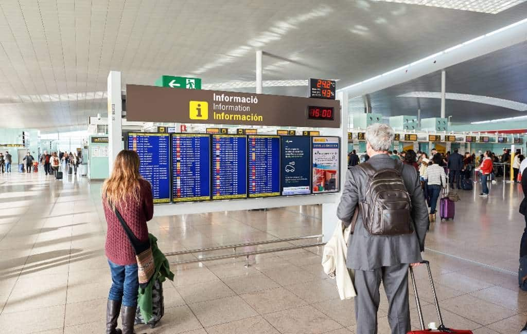 Genderneutrale omroepberichten op vliegvelden Spanje